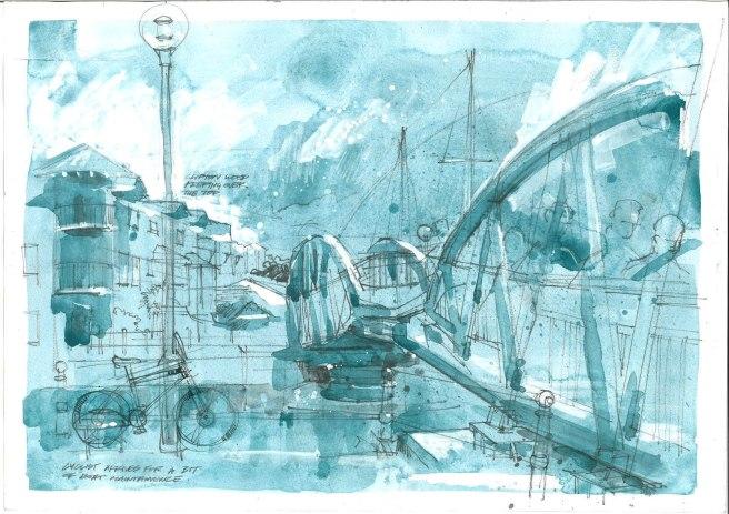 Pooles Wharf Bridge